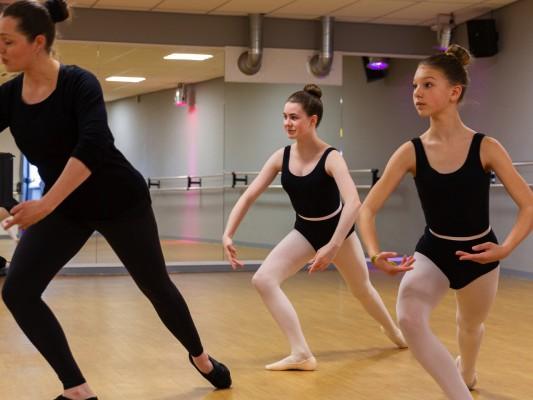 Klassiek ballet Tieners